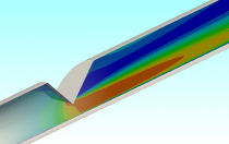 CFD of Wedge Flow Meter